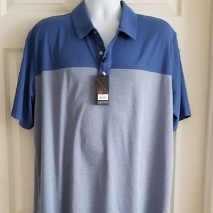 NWT Bolle Sport for Life Glof Shirt SZ XXL Blue